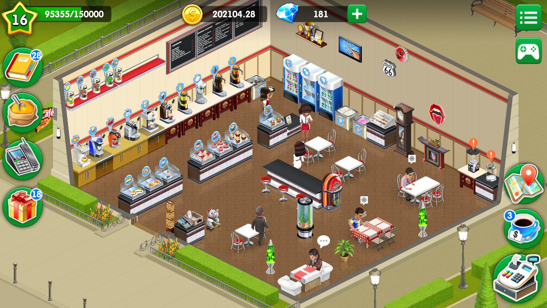 как заработать больше денег в игре my cafe