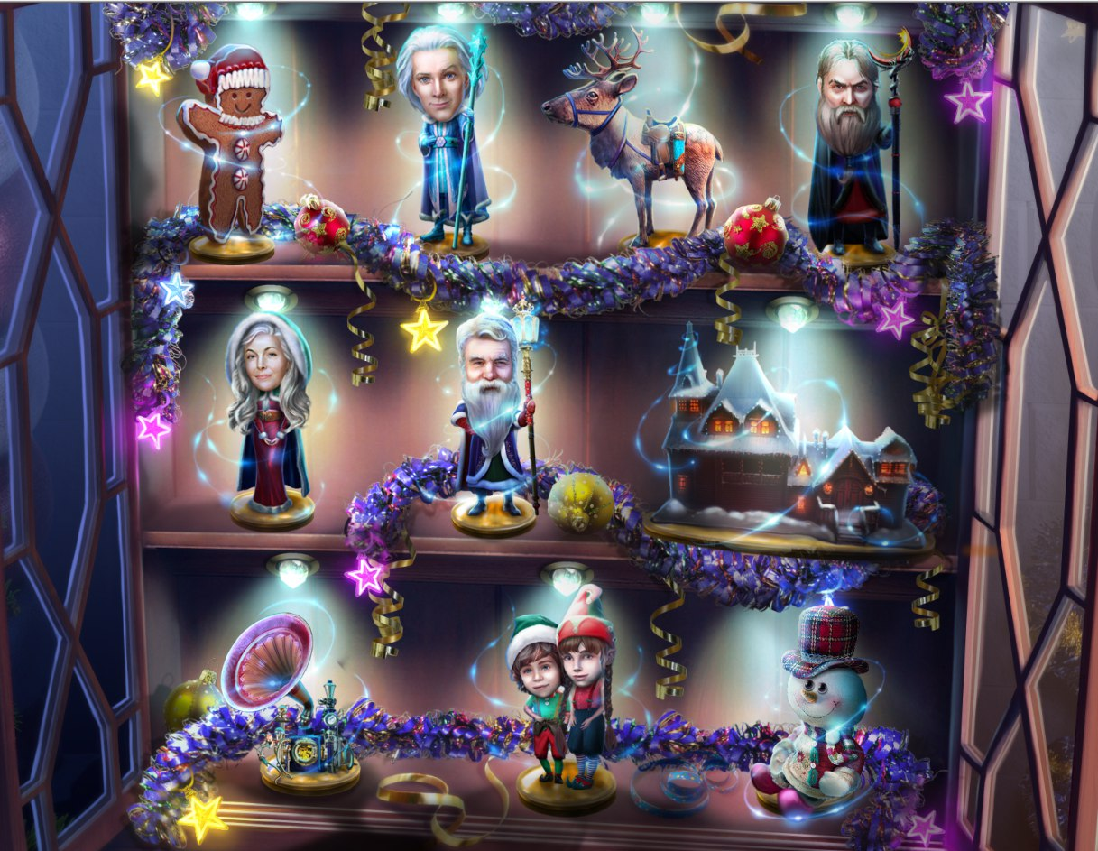 Yuletide Legends: The Brothers Claus. Поиск коллекционных статуэток сделает ваше рождественское приключение ещё увлекательнее.
