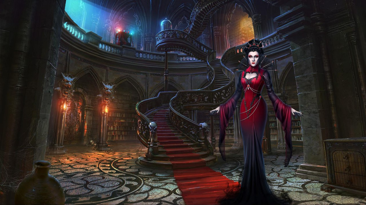 Sable Maze: Sinister Knowledge. Локация, выдержанная в стиле вампирской готики